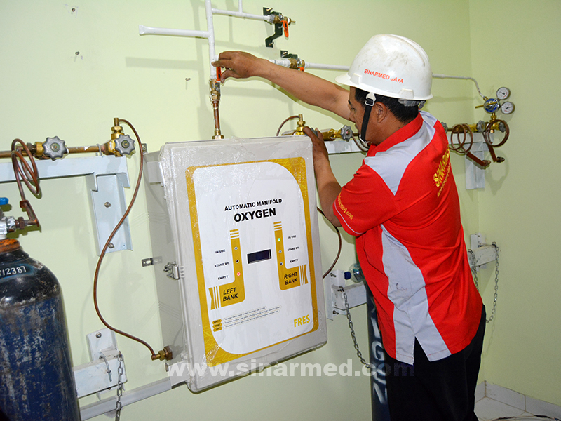 Instalasi Gas Medis sinarmed