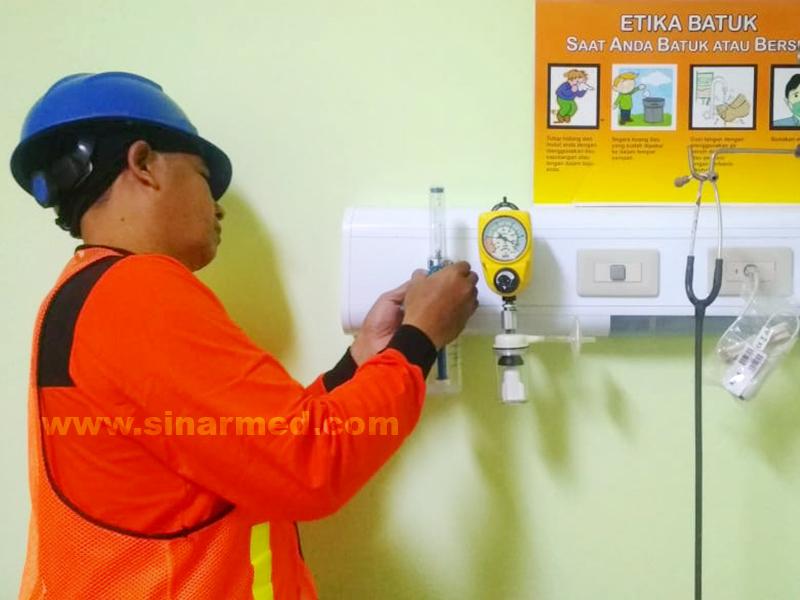 Pemasangan Flow Meter