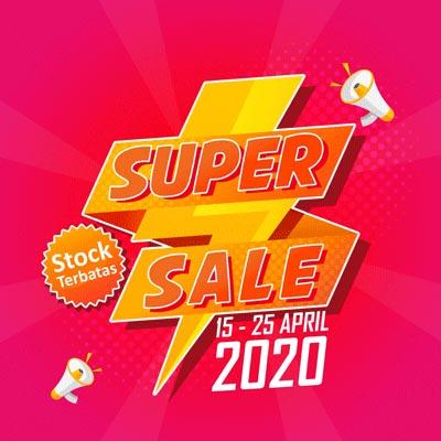 Mega Sale Sinarmed (15 - 25 April 2020)