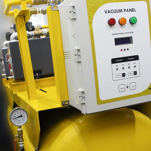 DUPLEX SENTRAL GAS MEDIK VACUUM
