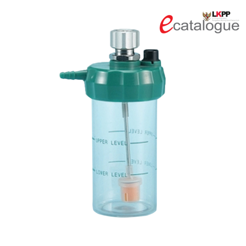PAHSCO HUMIDIFIER REUSABLE OXYGEN 135ML (Green Cap)